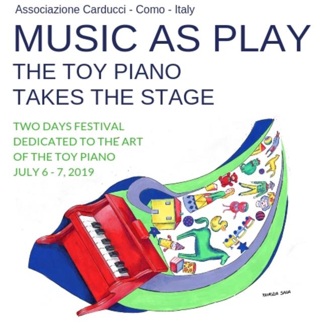Small toy piano festival
