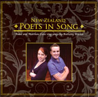 New Zealand Poets in Song - Anna and Matthew Leese sing songs by Anthony Ritchie