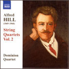 Alfred Hill: String Quartets Vol. 2 - CD