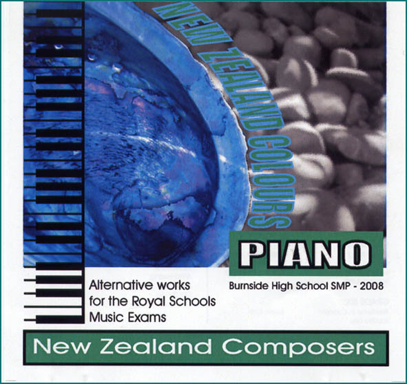 New Zealand Colours: Alternative Works for Royal Schools Music Exams - CD
