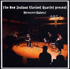 The New Zealand Clarinet Quartet: Microscore Madness! - CD