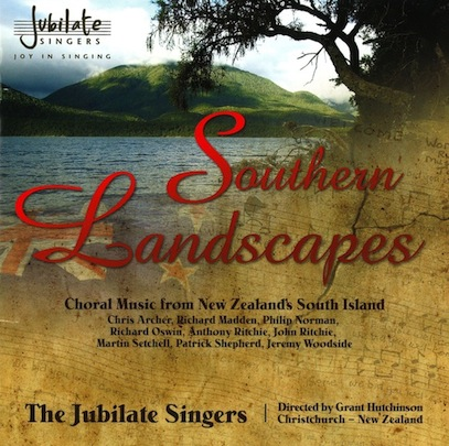 The Jubilate Singers: Southern Landscapes - CD