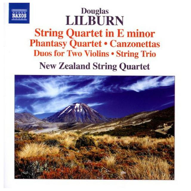 Small douglas lilburn  string quartet in e minor