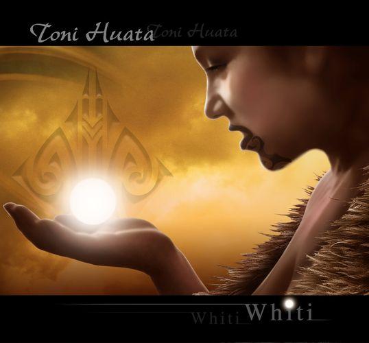 Whiti | Toni Huata - CD