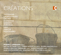 Créations | works for oboe and other instruments - CD
