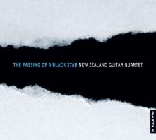 New Zealand Guitar Quartet | The Passing of a Black Star - CD