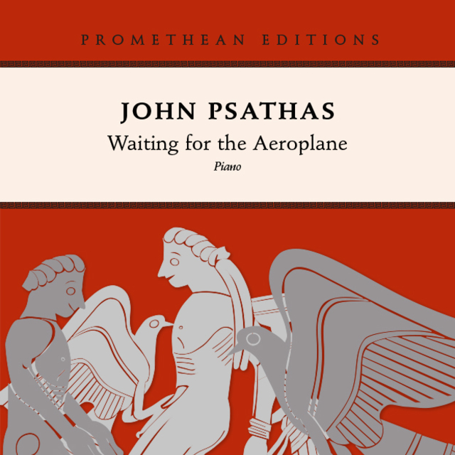 Small john psathas waiting for the aeroplane