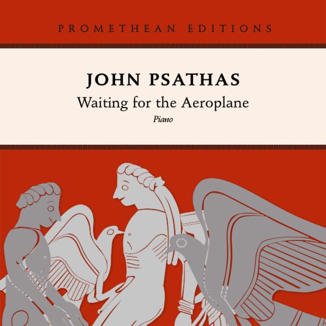 Small john psathas waiting for the aeroplane