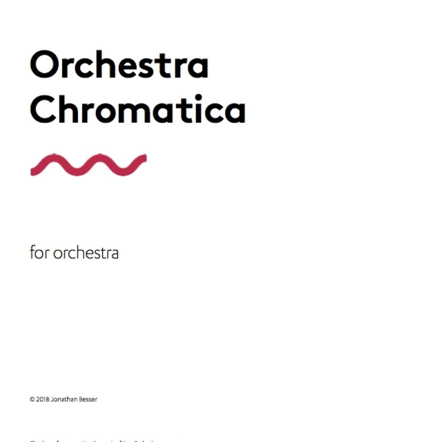 Small orchestra chromatica   for sounz  9