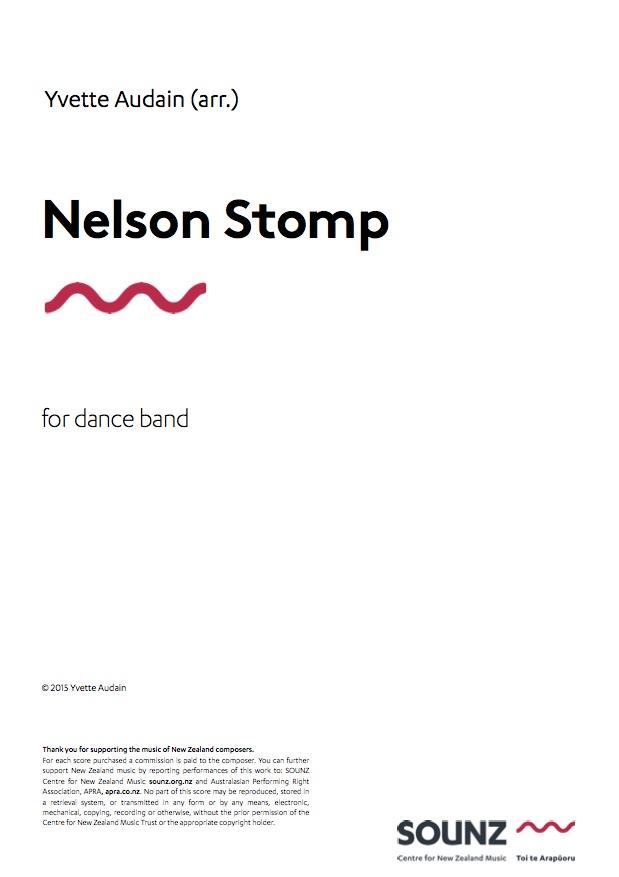 Yvette Audain: Nelson Stomp - hardcopy SCORE