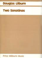 Douglas Lilburn: Two Sonatinas - hardcopy SCORE