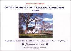 Organ Music by New Zealand Composers, Volume 1 - hardcopy SCORE