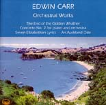 Edwin Carr: Orchestral Works