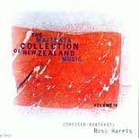 Waiteata Collection of New Zealand Music Vol. 4 - Composer Portrait: Ross Harris - CD
