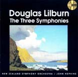 Lilburn: Three Symphonies