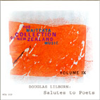 Waiteata Collection of New Zealand Music Vol. 9 - Douglas Lilburn: Salutes to Poets