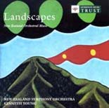 Landscapes: New Zealand Orchestral Music - CD