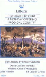 Douglas Lilburn: Prodigal Country - CASSETTE