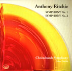 Anthony Ritchie: Symphonies 1 and 2