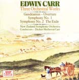 Edwin Carr: Three Orchestral Works
