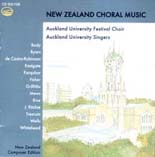 New Zealand Choral Music - CD
