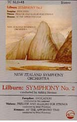 Douglas Lilburn: Symphony No. 2 and other works - CASSETTE