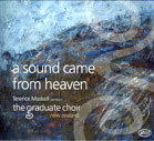 A Sound Came from Heaven - CD