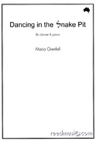 Maria Grenfell: Dancing in the Snake Pit - hardcopy SCORE and PARTS